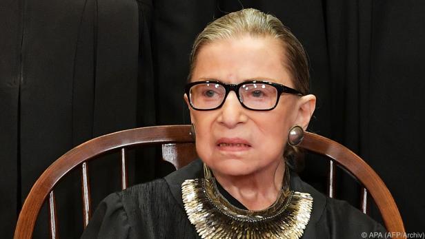 Ginsburg litt unter einer Geschwulst in der Bauchspeicheldrüse