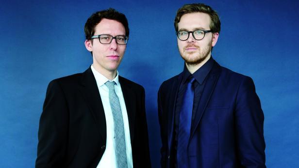 Bastian Obermayer und Frederik Obermaier