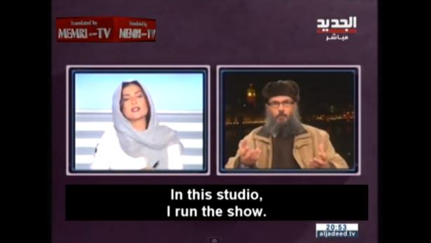 Libanesische Moderatorin wirft Islamisten aus Sendung