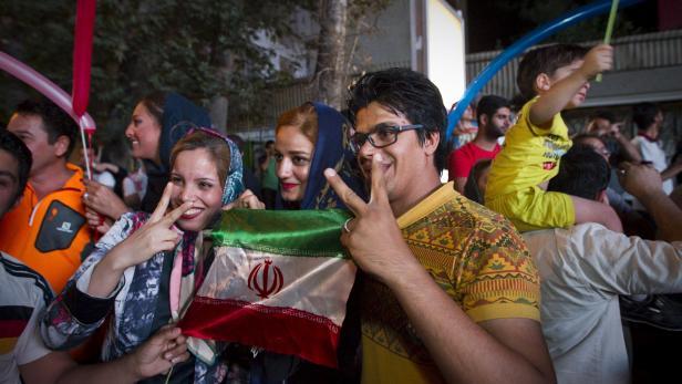 Freude in Teheran