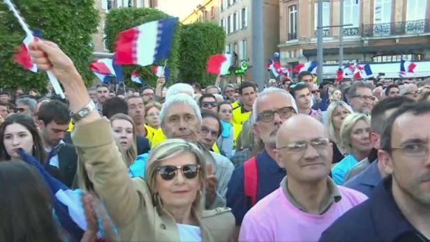 Endspurt im Präsidentschaftswahlkampf in Frankreich