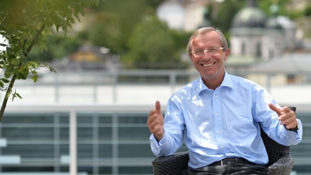 Salzburgs Landeshauptmann Wilfried Haslauer.