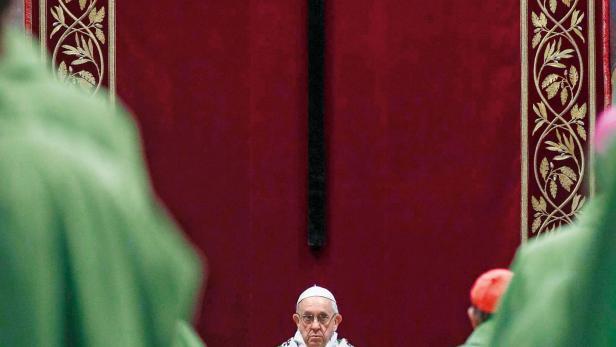 Papst Franziskus bei der Antimissbrauchskonferenz: Keine konkreten Maßnahmen