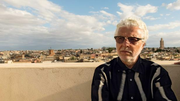 André Heller in Marrakesch