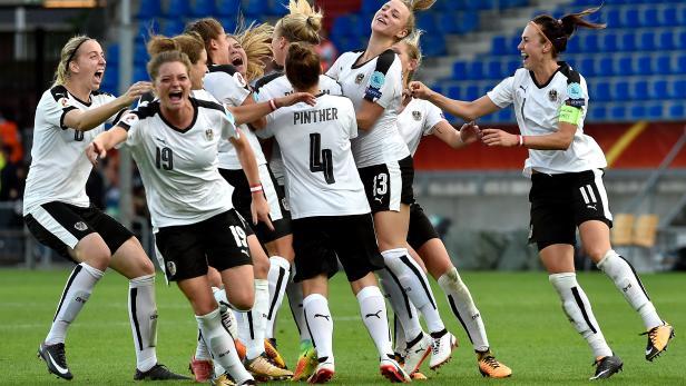 Das Frauen-Nationalteam bei der EM 2017.