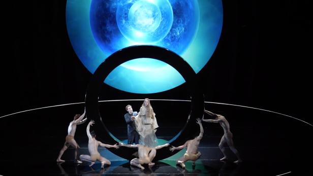 """Szenenbild aus """"Pelléas et Mélisande"""" an der Opera Vlaanderen"""