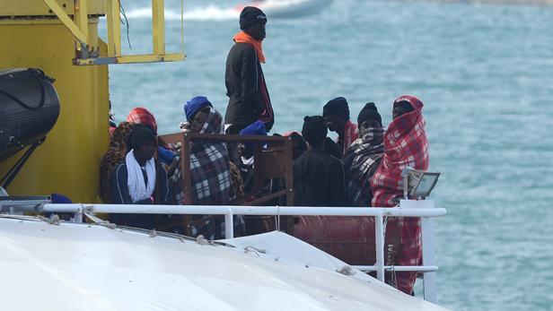 Mittelmeerflüchtlinge