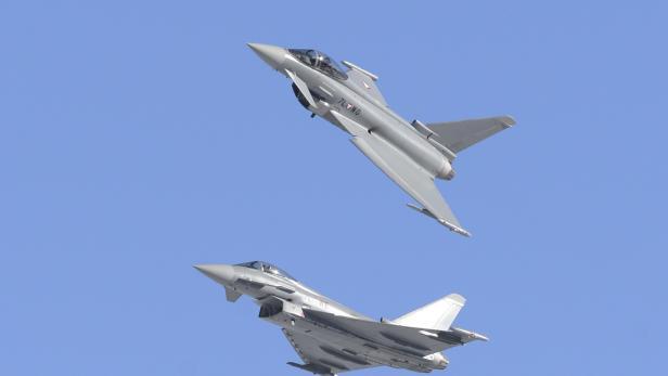 Zwei Eurofighter des österreichischen Bundesheeres