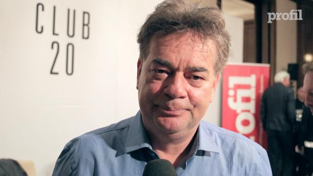 Werner Kogler beim profil-Talk