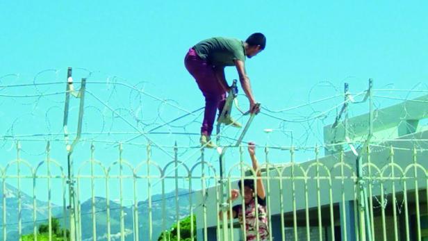 Flüchtlinge in Patras