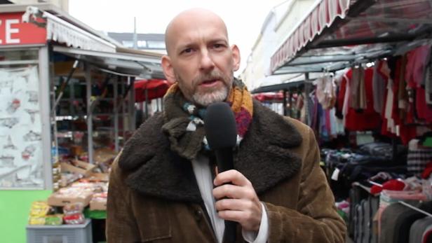 Clemens Neuhold hörte sich am Brunnenmarkt um