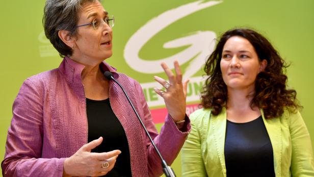 Ulrike Lunacek (l.) und Ingrid Felipe