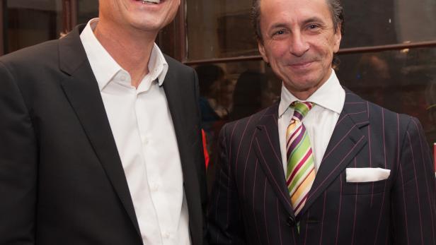 Thomas Kralinger (Geschäftsführer des Kurier-Medienhauses) und Christian Rainer (profil-Herausgeber)