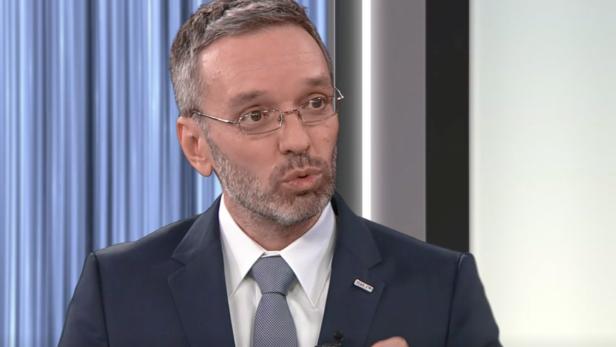 """Innenminister Herbert Kickl (FPÖ) im ORF-""""Report"""""""