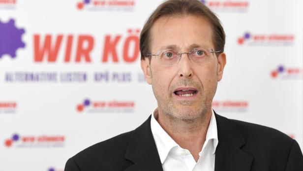 KPÖ-Spitzenkandidat Ivo Hajnal