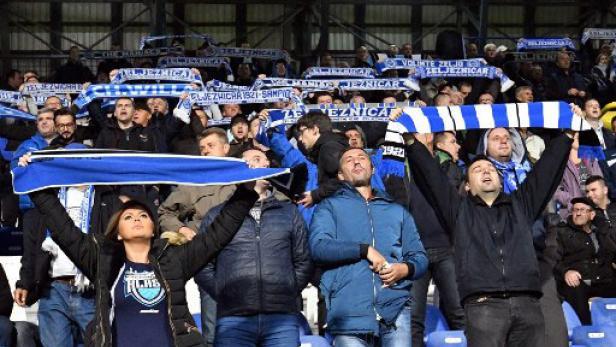 Die Fans des FK Zeljeznicar Sarajevo warten schon länger auf einen Auftritt in der Europa League