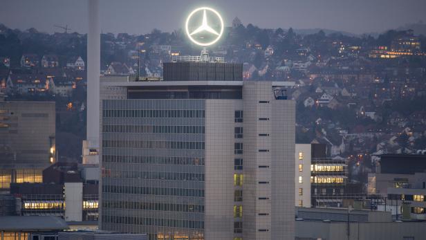 Der Hauptsitz der Daimler AG in Stuttgart