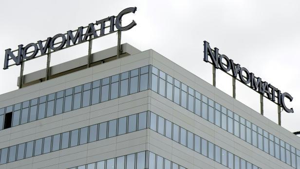 Das Firmengebäude der Novomatic Konzernzentrale in Gumpoldskirchen in Niederösterreich.