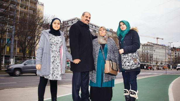 """Huda Hamzha: """"Mein Mann hat in seiner Kindheit oft ein Lied einer ägyptischen Sängerin über Wien gehört."""""""
