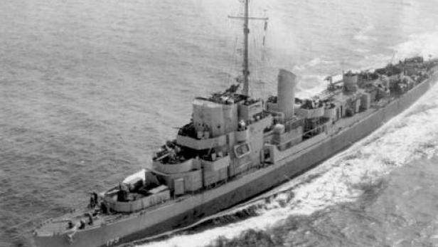 Die USS Eldridge.
