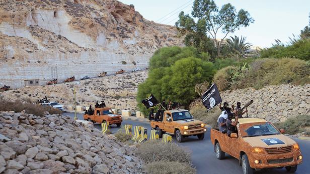 IS-Kämpfer in Libyen