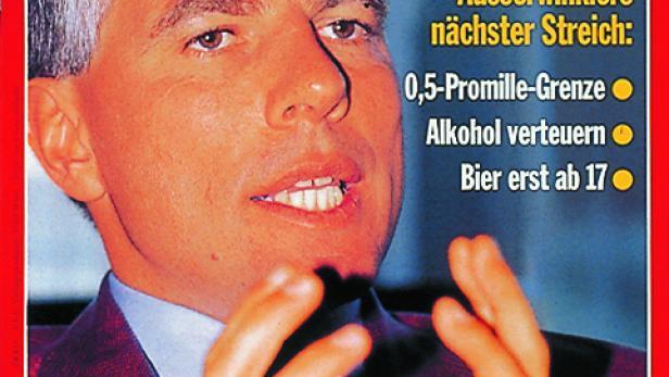 Das profil-Cover vom 15. Februar 1993
