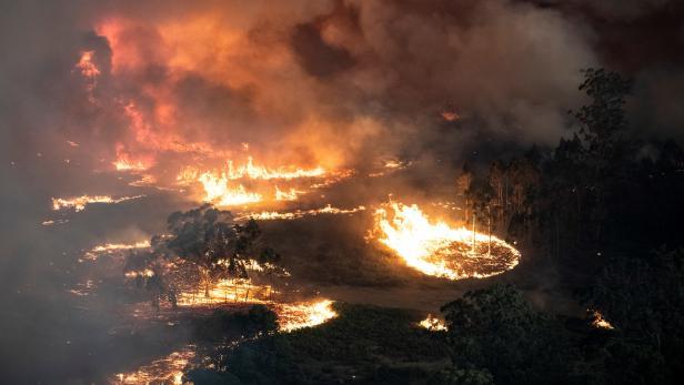 Buschfeuer in East Gippsland