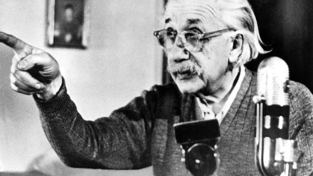 Wer hat's erfunden: Albert Einstein?