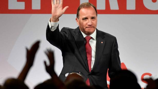 Sozialdemokrat Stefan Lofven behauptet den ersten Platz, verliert aber viele Stimmen