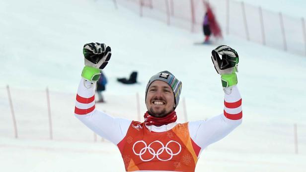 Golden Boy: Marcel Hirscher jubelt erstmals über Olympia-Gold