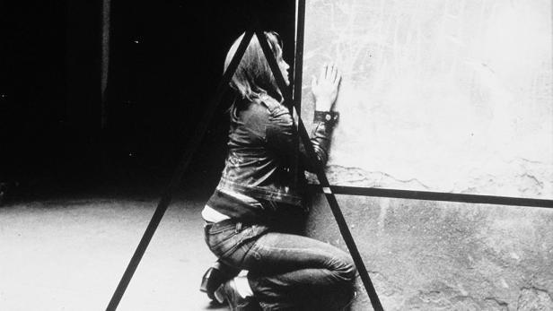 """Valie Export, """"Geometrische Figuration"""", 1972"""
