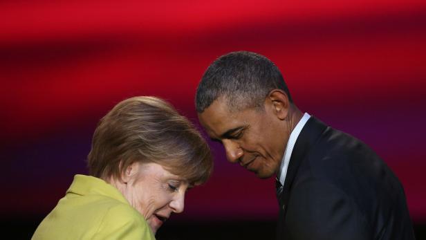Barack Obama und Angela Merkel bei einem Treffen vergangene Woche.