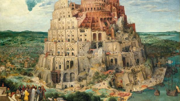 """Strengstes Reiseverbot für Bruegels """"Turmbau zu Babel"""" (1563)"""