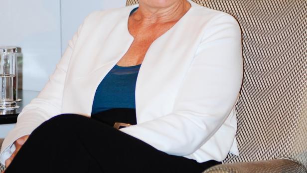 Ulrike Lunacek beim profil-Gespräch