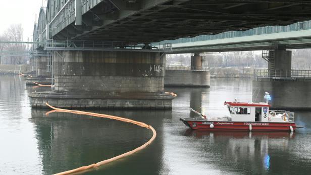 Einsatz bei der Nordbahnbrücke