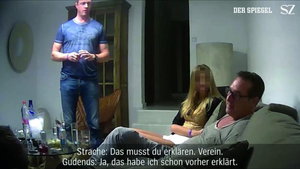 """Heinz-Christian Strache und Johann Gudenus sprechen im """"Ibiza-Video"""" über Parteispenden via Vereine"""