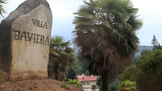 """Ausblick auf """"Villa Baviera"""" (Bavaria Village), das ehemalige Siedlungsgebiet der Colonia Dignidad."""