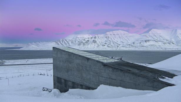 Der Samenbunker in Spitzbergen
