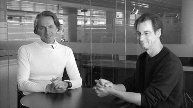 Christian Rainer und Alwin Schönberger über die aktuelle Titelgeschichte: Das Mikrobiom.