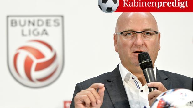 Bundesliga-Präsident Hans Rinner