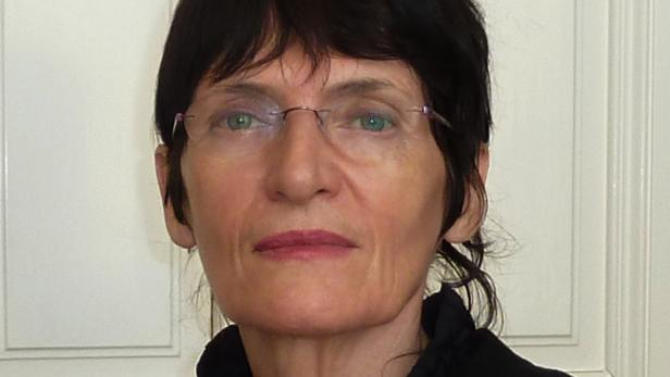 Die Künstlerin Renate Bertlmann.