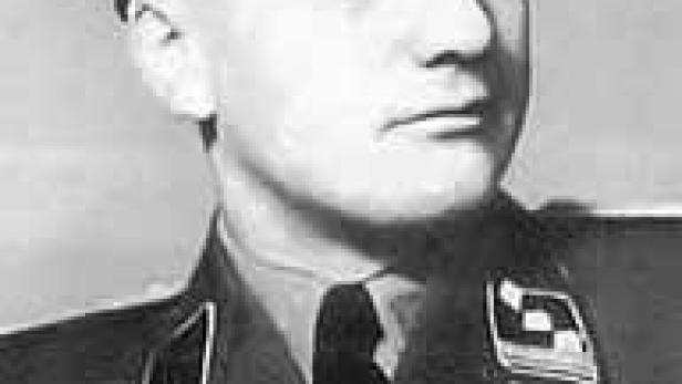 Unter anderem die Geschichte des österreichische SS-Täters Wilhelm Höttl wird bei der Diskussion an der Uni Wien thematisiert