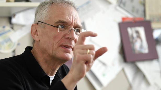 Franz Allerberger, Leiter der Abteilung Öffentliche Gesundheit der Agentur für Gesundheit und Ernährungssicherheit (AGES)