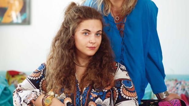 Angelika Hager mit ihrer Tochter Stella