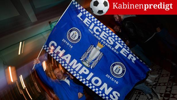 Die Leicester-Anhänger können ihr Glück kaum fassen