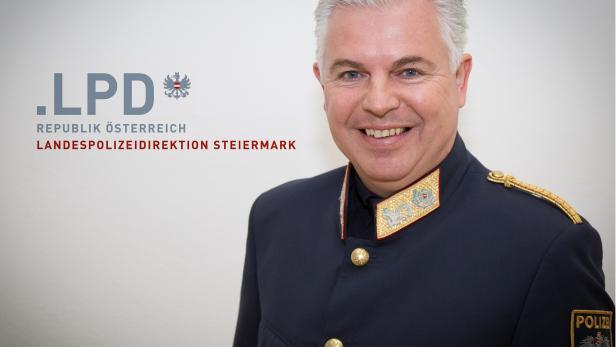 Der steirische Polizei-Hofrat Alexander Gaisch