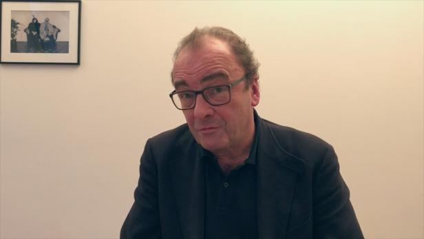 Robert Menasse im Interview mit Christa Zöchling.