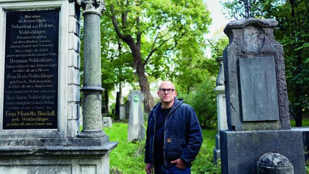 Roland Schulz im Alten Südfriedhof in München