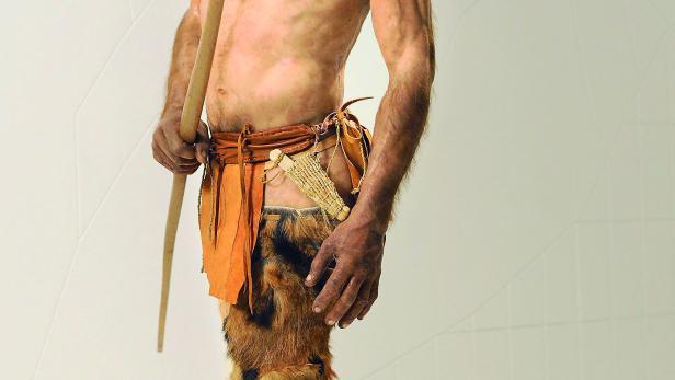 So könnte Ötzi ausgesehen haben.