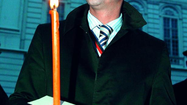 FPÖ-Chef Strache im Jahr 2004